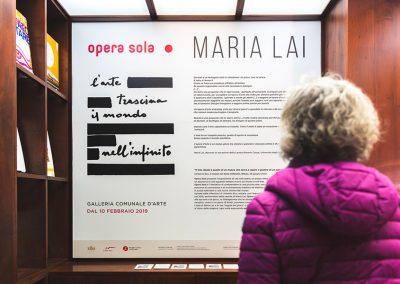 Maria Lai - Photo Giorgio Marturana